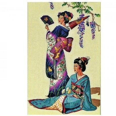 """DIMENSIONS  GOLD COLLECTIONS """"JEWELS OF THE ORIENT""""CROSS STITCH KIT  Kreuzstich-"""