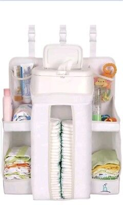 Hiccapop Nursery Organizer and Baby Diaper Caddy Hanging Diaper Q1 F6