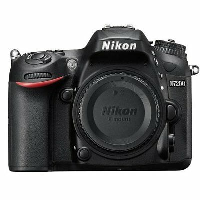 Nikon DX Format D7200 24.2MP Digital SLR Camera Body with Wi-Fi and NFC