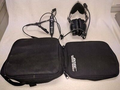Bose Aviation Headset AHX-32-01 and AHX-34-01, LIKE NEW