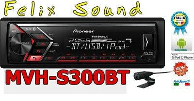 Pioneer MVH-S300BT Autoradio BLUETOOTH  FLAC MP3 USB  AUX-IN