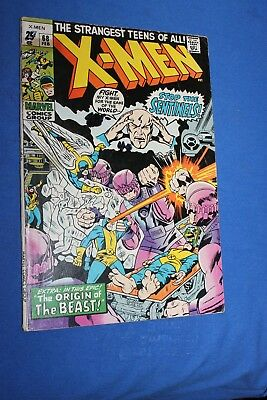 Uncanny X-men #68 VG-F Combined Shipping! and discounts! (see lot)