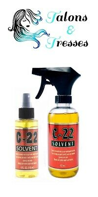 Solvent C-22 Keratin Bond & Tape Hair Extensions Remover Spray - 118ml or 354ml