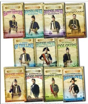 Hornblower Audio Books Complete Collection MP3 DATA DVD 148 Hrs & FREE GIFT!