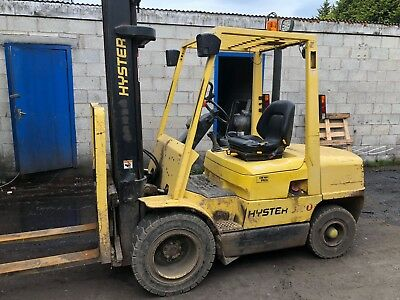 HYSTER 3.0 TONNE DIESEL FORKLIFT for lease or sale from £43 a week