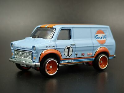 1965-1977 Ford Transit Super Van Gulf Rare 1:64 Scale Limited Diecast Model Car