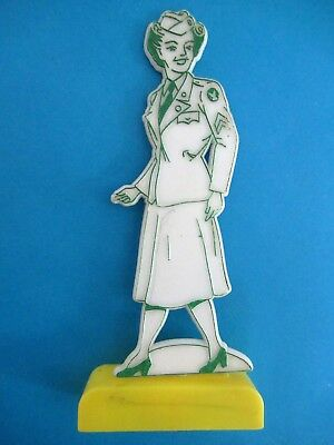 Vtg WWII U. S. Women's Army Corps WAC WAAC WASP Cake Topper Game Piece 40's