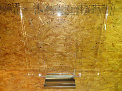 Bullet Resistant Glass Arch Barrier System 3 Piece Set