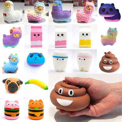 Hot Jumbo Slow Rising Squishies Scented Squishy Squeeze Toy Reliever Stress Gift