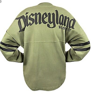 "Disney Parks Disneyland Resort Est. 1955"" Spirit Jersey Long Sleeve Medium -Nwt"