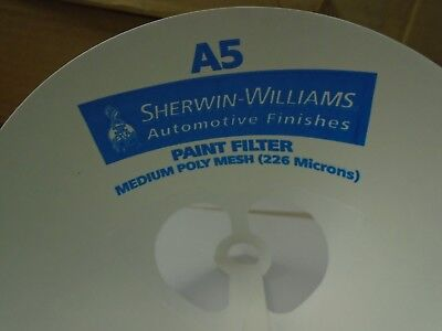 Sherwin Williams A5 Paint Strainer Medium Poly Mesh (226 Microns) - QTY 50