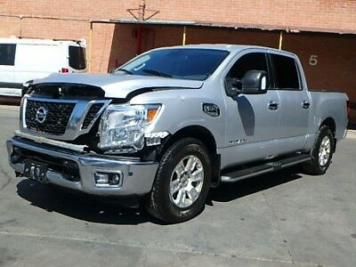 2017 Nissan Titan S Crew Cab 2017 Nissan Titan! Salvage Repairable! V8! Rugged Performance! Priced to Sell!