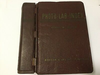 PHOTO-LAB-INDEX Henry M. Lester & Morgan - The Bible 1946 Vintage -