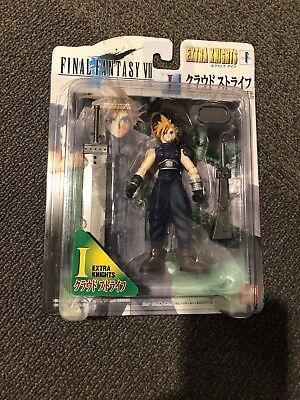 Final Fantasy VII 7 Extra Knights CLOUD STRIFE action figure Bandai 1997 -  NEW