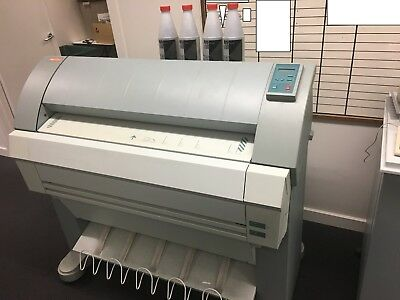OCE TDS 400 Wide  Format Printer/Plotter with Controller, Ink & Paper
