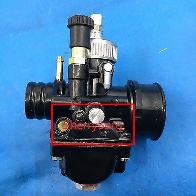 PHBG DS Black 21mm Racing Carburetor Carb Dellorto manual choke mopes scooter