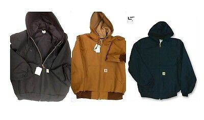 Carhartt J131 Mens Duck Active Jacket - Thermal Lined [CADS-131] Free Ship in US