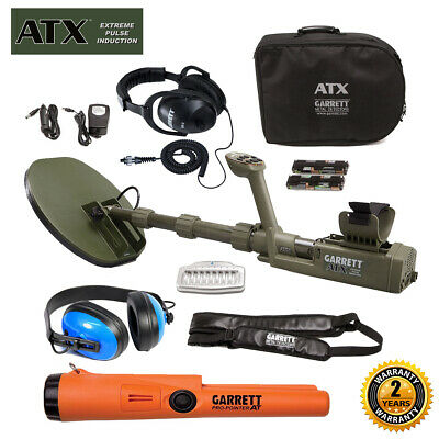 Garrett ATX Extreme Pulse Induction with Pro-Pointer AT & Waterproof Headphones