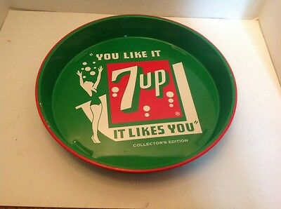 """""""You like it, It likes you"""" 1992 7up Tray"""