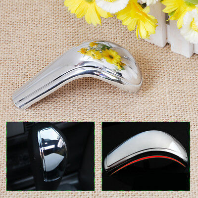 Chrome At Gear Head Shift Knob Decoration Sticker Cover for 2005-2014 ford Focus