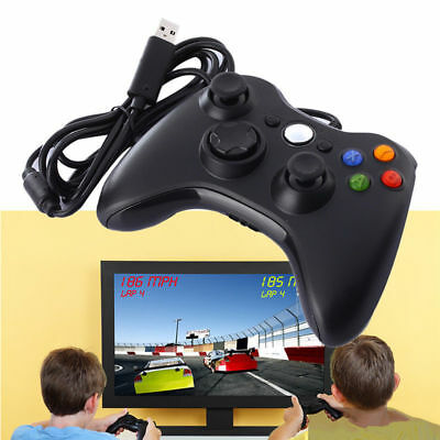 AU Xbox 360 USB Wired Remote Game Controller Gamepad for PC Windows Computer