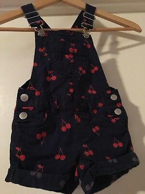 Girls Target Overalls Size 2