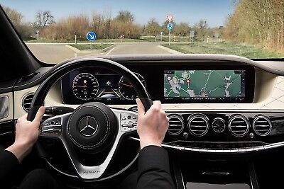 2012-2016 Mercedes Models NTG4.5 V18.0 COMAND® 2018 Navigation Update B C E G GL