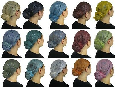Wholesale lot of 24 or 48 Israeli Tichel Hair Cover Chemo Wrap Head Scarves