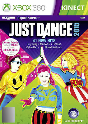 Just Dance 2015 (Microsoft Xbox 360, 2014) - MINT Condition - FREE POST!!