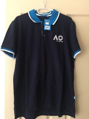 TENNIS Australian Open Polo Shirt (New) RRP $50 Size XL