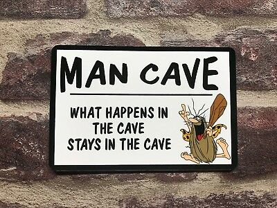 Metal Sign Man Cave Wall Plaque Ideal Christmas Present Man Gift Novelty