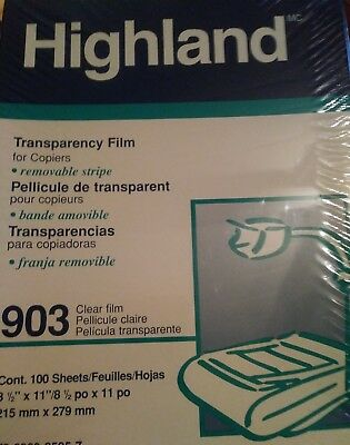 3M 903 Transparency Film with Removable Sensing Stripe
