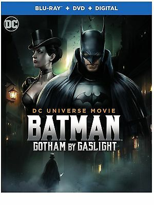 BATMAN GOTHAM BY GASLIGHT Blu-ray/DVD + Digital HD NEW + FREE SHIP! #Batman #DCU
