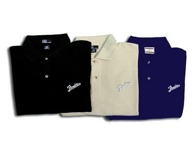 Fender Amp Logo Polo Shirt, Black, Size L