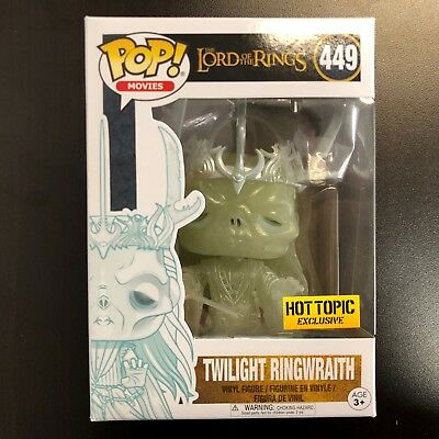 Funko POP LOTR Lord Of The Rings Twilight Ringwraith Hot Topic Exclusive MINT