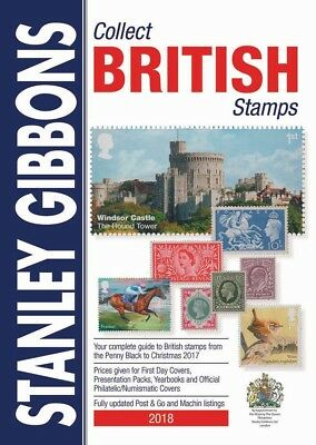 SG 2018 Collect British Stamps Catalogue