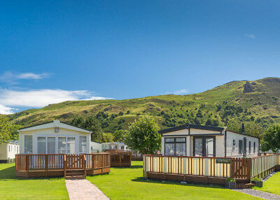 Static Sited Caravan 5* 12 months Site Aberconwy Resort Central Heated & DG