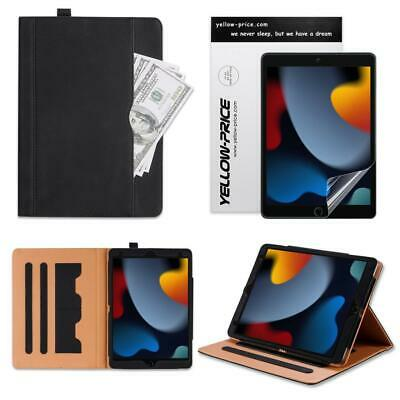 iPad 9.7 6th Generation 2018 Soft Leather Smart Cover Case Sleep Wake Apple LOT