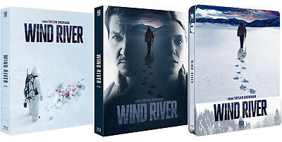 Wind River - Blu-ray Steelbook Full Slip Lenticular Quarter 1/4 (2018) / The BLU