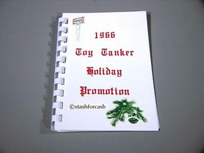 1966 Hess Voyager Holiday Promotion Book