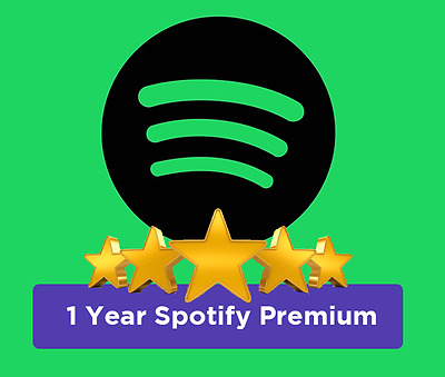 Spotify Premium 1 Year | Include 1 Year Warranty
