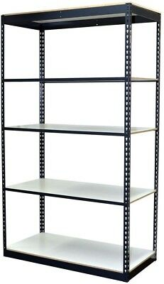 Storage Concepts 72 in. H x 48 in. W x 12 in. D 5-Shelf Steel Boltless Shelving