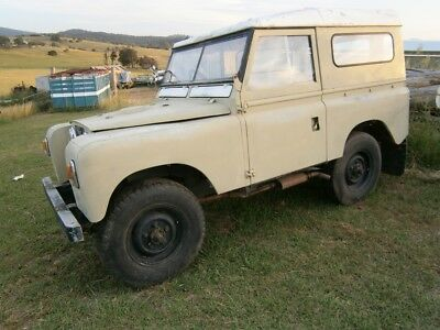 1963 Land Rover Series 2A 4x4 Landrover IIA 4wd SWB Hard Top Metal Roof Canopy