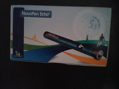 1 x  Novo Pen  Echo, Insulin-pen, blau ++Neu++