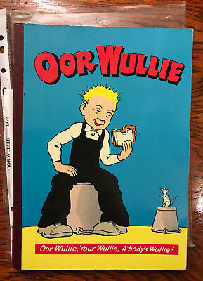 Oor Wullie 1972 Annual - a coupe of loose pages see pics