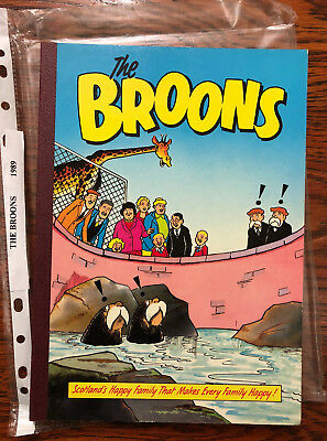 The Broons 1989 Annual - nice copy