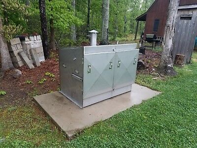 Custom Built Outdoor Bbq Grill With  Rotisserie Stainless Steel