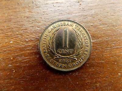 British Caribbean Territories, East States, 1965 1 Cents