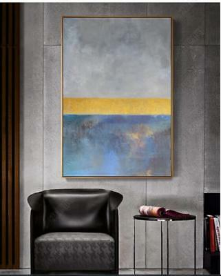 Hand Painted Canvas Abstract Oil Painting Wall Art Home Decor 728