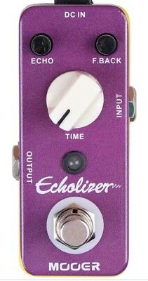 Mooer Audio Echolizer Analog Echo Delay Guitar Effect Pedal